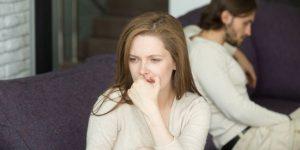 menghilangkan pikiran negatif kepada suami