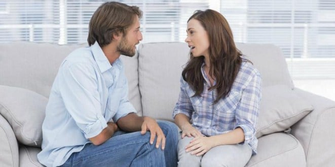 Ilustrasi cara menghadapi suami tukang bohong