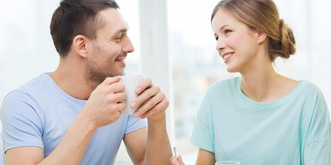 Ilustrasi memberi motivasi pada suami
