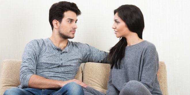 ilustrasi komunikasi dengan pasangan