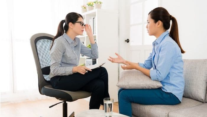 Ilustrasi Konsultasi dengan Psikolog