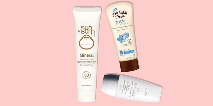 Contoh Sunscreen